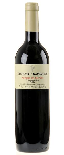 Avtandil Bedenashvili Wine Manufactur Saperavi Selection Valiko 2014