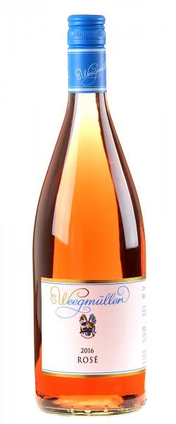 Weingut Weegmüller Rosé 1 Liter 2016