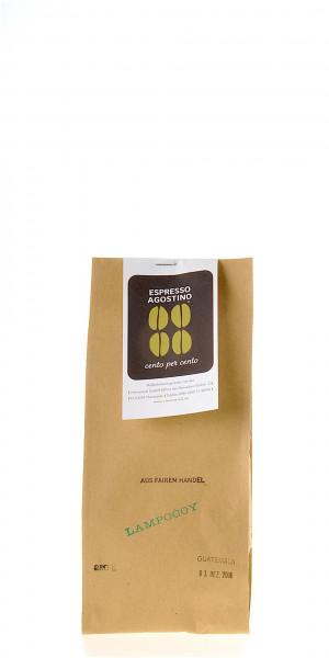 Espresso Agostino Cento per cento: Guatemala Lampocoy 250g