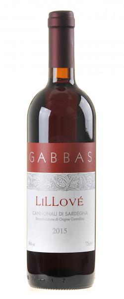 Gabbas Lillové Cannonau di Sardegna DOC 2015