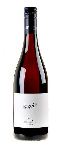 Geil´s Sekt- und Weingut Spätburgunder 2015