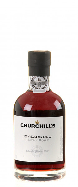 Churchill's Estate 10 Years old Tawny miniatur