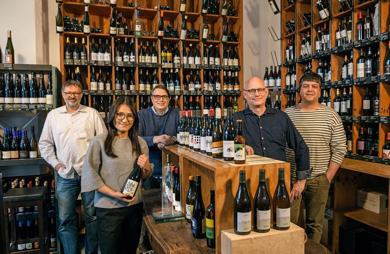 Das Wein Team