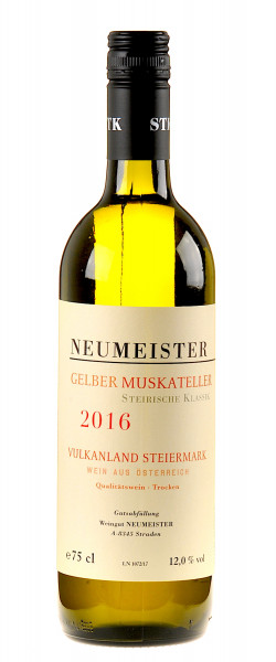 Neumeister Gelber Muskateller STK 2016