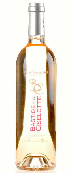 Bastide de la Ciselette Rosé Vin de Pays du Var Ciselette 2017