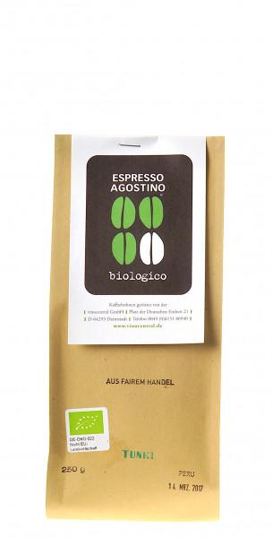 Espresso Agostino Cento per cento: Peru Tunki bio 250g