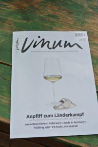 Vinum, Ausgabe 5-2016