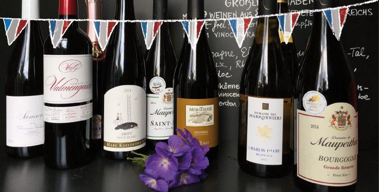 05.11. Großer Weinabend: Vive la France!